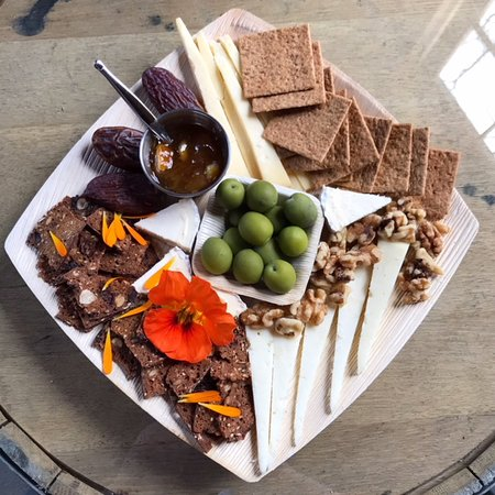 Claverack, NY: Cheese plate