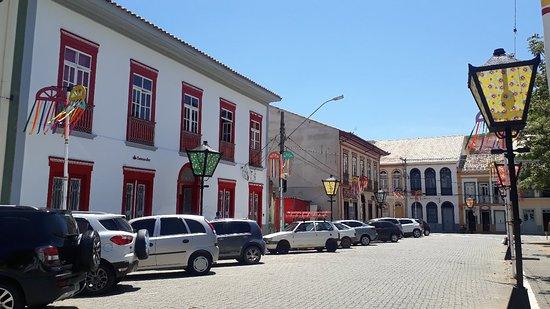 Sao Luiz do Paraitinga, SP: Praça osvaldo Cruz