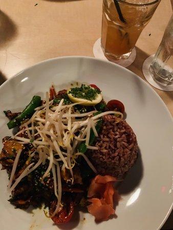 Māla Ocean Tavern: A fresh fish stir fry with crunchy veggies