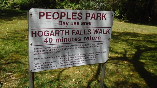 Peoples Park sign