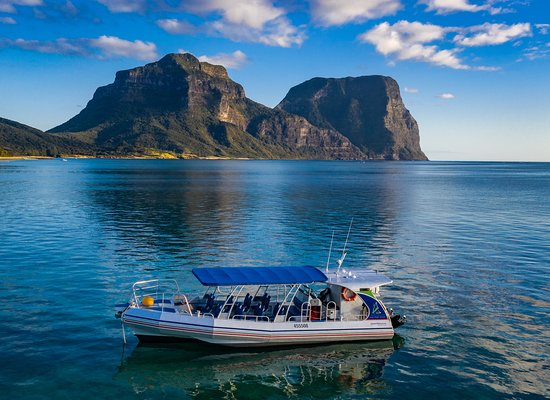 ‪‪Lord Howe Island‬, أستراليا: Reef N Beyond, fast, comfortable, stable, dry & fitted out for your comfort!‬