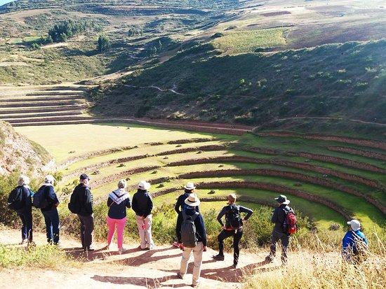 Moray, el laboratorio agrícola Inca, lo visitaremos durante el tour al valle sagrado con Semilla Tours