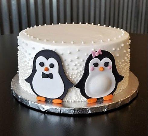 Penguin Cake (Custom Order)