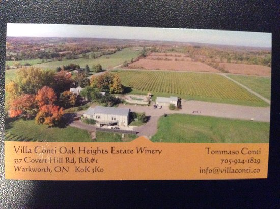 ‪Villa Conti Oak Heights Estate Winery‬