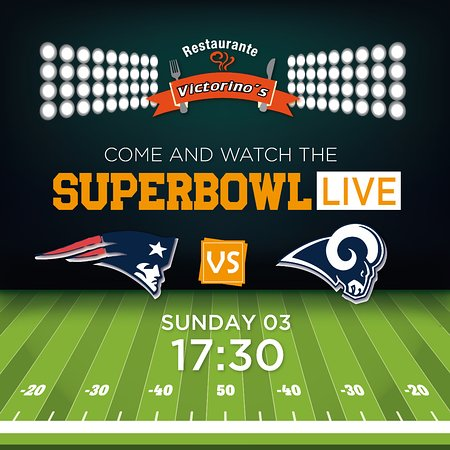 Sunday you can watch it in Victorno's.