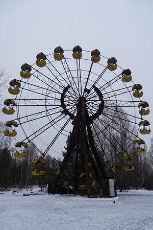 Chernobyl Tour from Kiev: Ferris wheel
