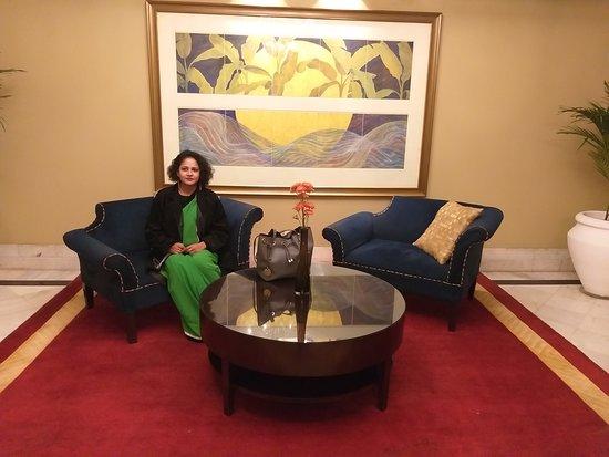 The Claridges Hotel: Myself -Sonia Handa at the Claridges, Delhi