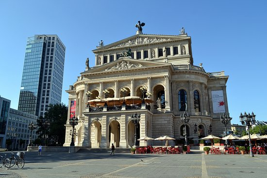 Old Opera House (Alte Oper) : Старая Опера во Франкфурте