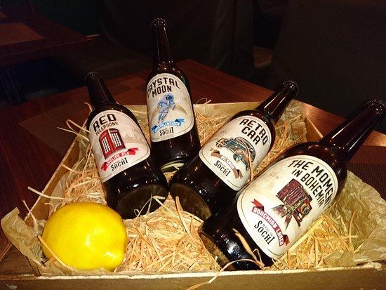 Крафтовое пиво в Сочи от паба Edisson