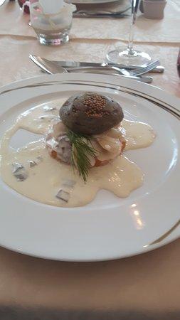 Le Lude, Frankrike: Hamburger de st Jacques succulent!!!