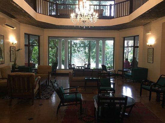 Neemrana's - Glasshouse on the Ganges: Resort Lobby
