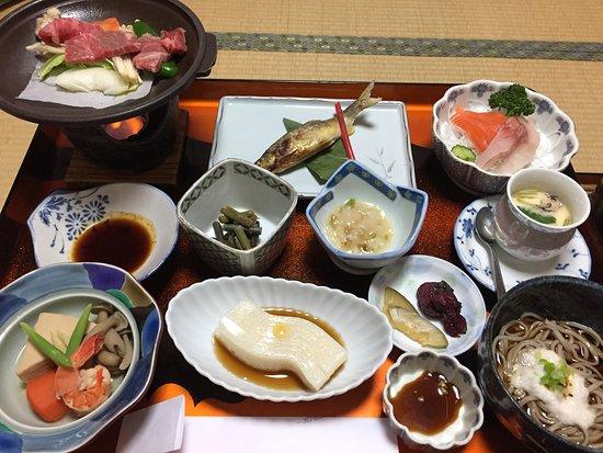 Matsumoto: Kaiseki dinner