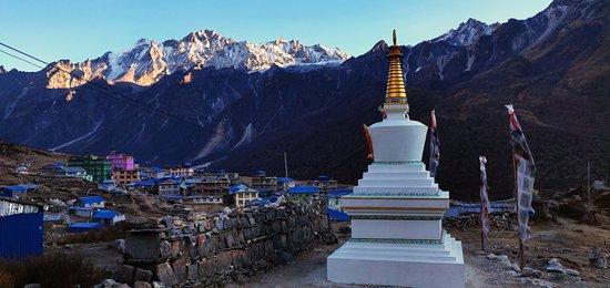 Langtang National Park, Nepal: Kyangin Gompa, Langtang Nepal.
