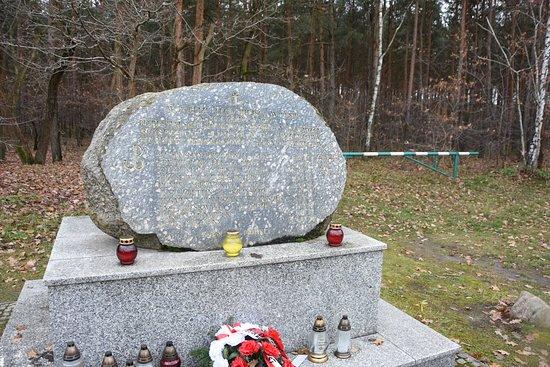 Pomnik pamięci rozstrzelanych w rembertowskim lesie