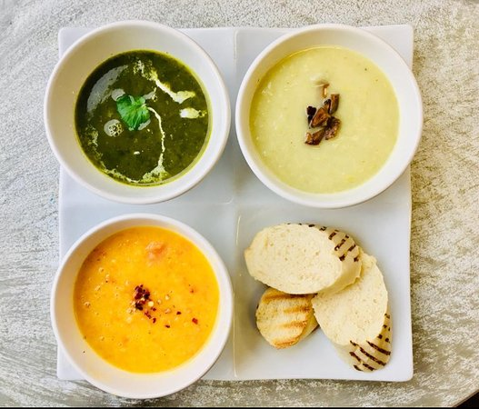 All soups are homemade, plant based (vegan) and gluten free)