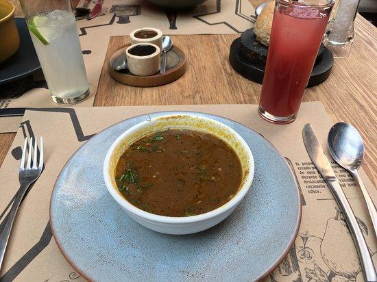 La Encomienda: Sopa