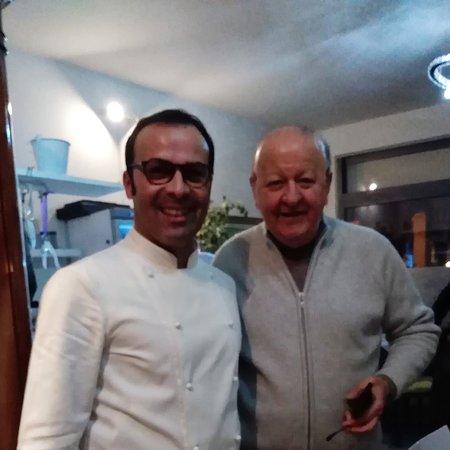 Con Massimo Boldi.