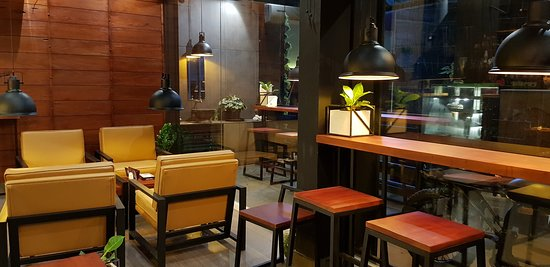 Wayanad District, India: Cozy ambiance @caferiderslounge