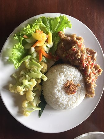 Wantilan Restaurant: Grilled Tuna Package