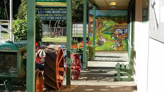 Fort Langley, Canada: One of the many Murals completed in 2017