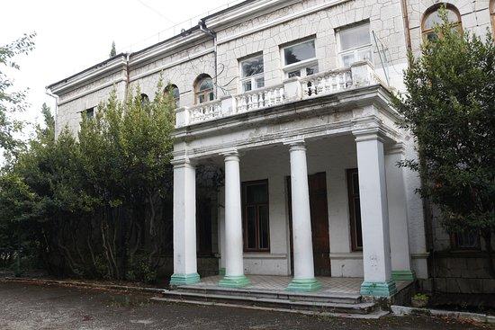 Simeiz: Дом И. С. Мальцова в Симеизе. Северный фасад.