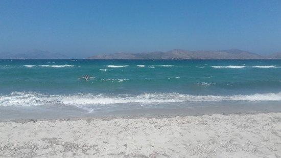 Super plaża.