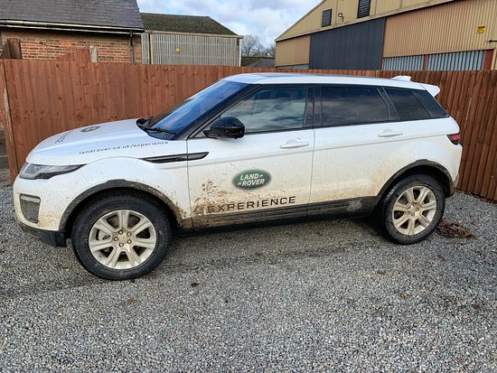 Land Rover Experience: Not too muddy