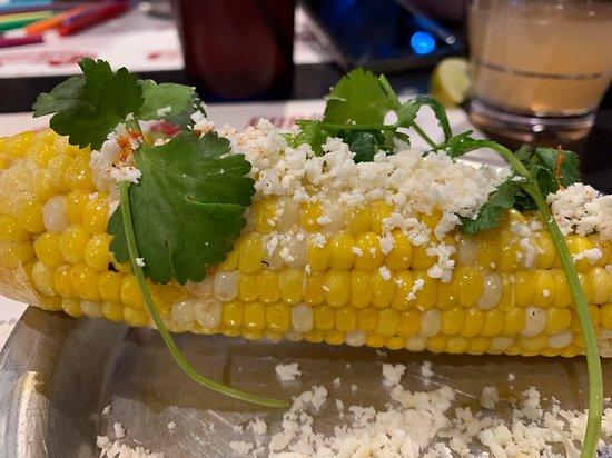 Ole Red: Corn on the cob.