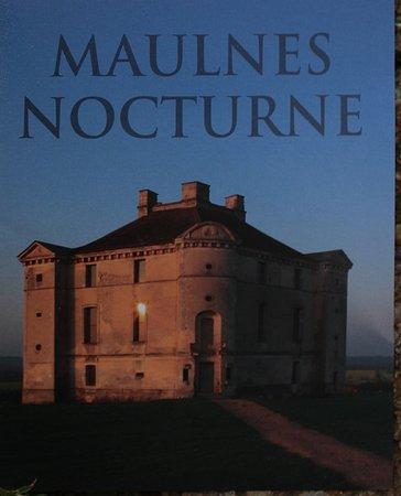 Le flyer du château de Maulnes