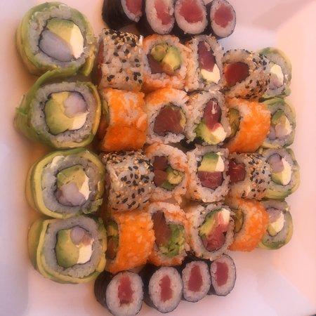 Muy rico el sushi !!!