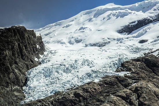 Glaciar Vespignani - Se llega luego de un Trekking de 35 - 45 minutos
