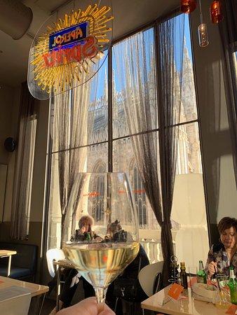 View From Inside Foto Di Terrazza Aperol Milano Tripadvisor