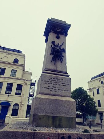 60th Rifles Memorial to Indian Mutiny