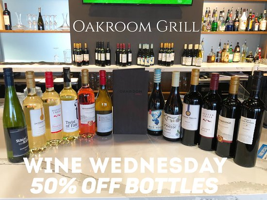 WINEsday : bottles of wine 50%off