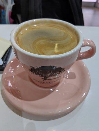 クリーミーなコーヒー