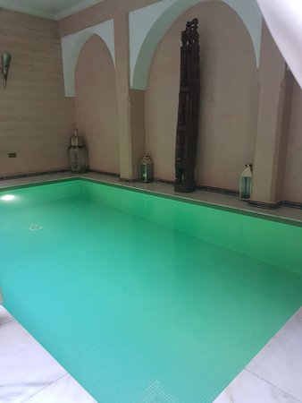 Small indoor swimming pool - Picture of Riad Dar Anika ...