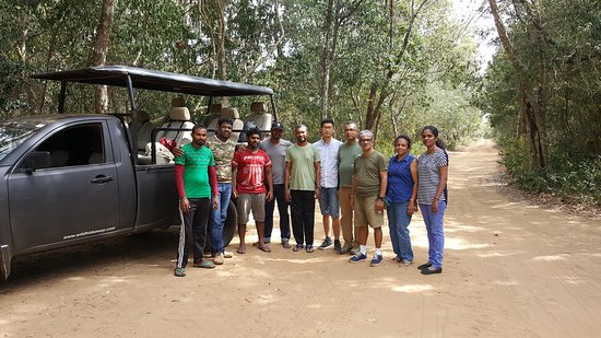 Group of Wildlife Photographers take part the photography tours organise by Prasanna Ambigaibagan on 25th June 2017 to Willpattu National Park.  Total of 8 Participants from Colombo visit Willpattu National Park of Sri Lanka on 25th June 2017.
