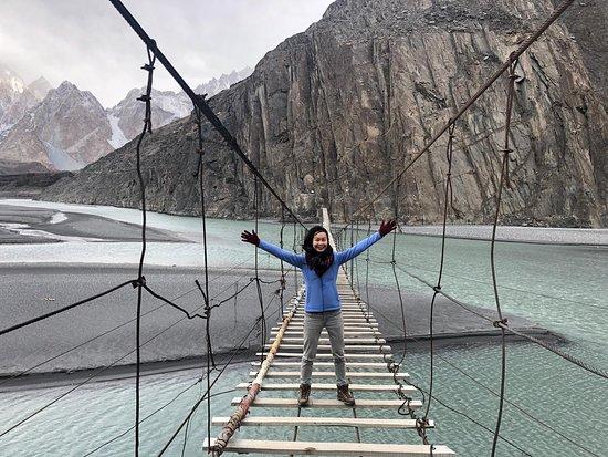 Hussaini Hanging Bridge: yay