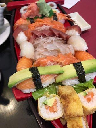 O Wasabi: sushi and sashimi