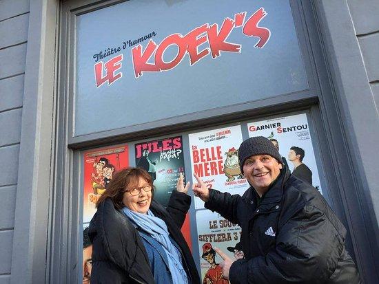 Koekelberg, Belgia: De l'humour tout l'année
