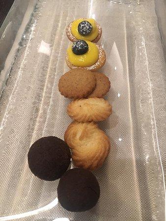 biscottini espressi offerti dallo chef