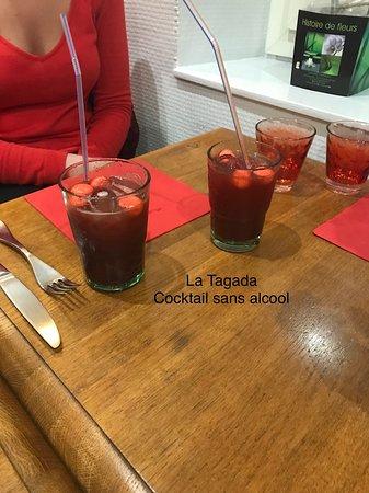 La Terrasse: Apéritif sans alcool  Cocktail Tagada