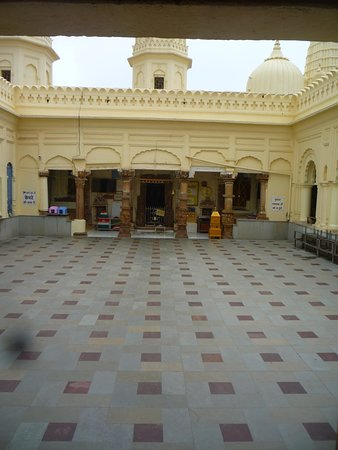COURTYARD OF THE SHANTINATH TEMPLE