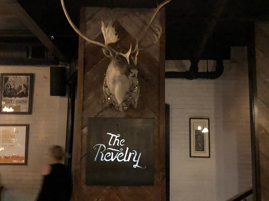 The Revelry - moose in entrance