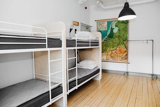 8-bed dorm