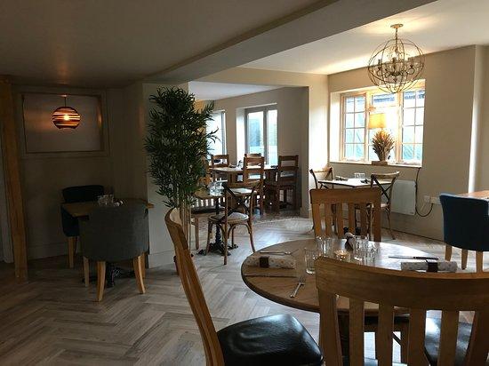 New flooring, furniture, more spacious dining area
