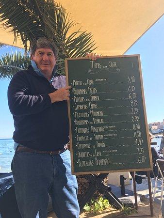 Hostal Talamanca Restaurant: Tapas a  tope