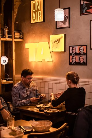 Authentic atmosphere that reminds you of Tel Aviv!