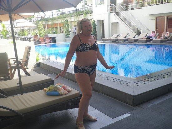Rex Hotel: Один из бассейнов на 5 этаже.