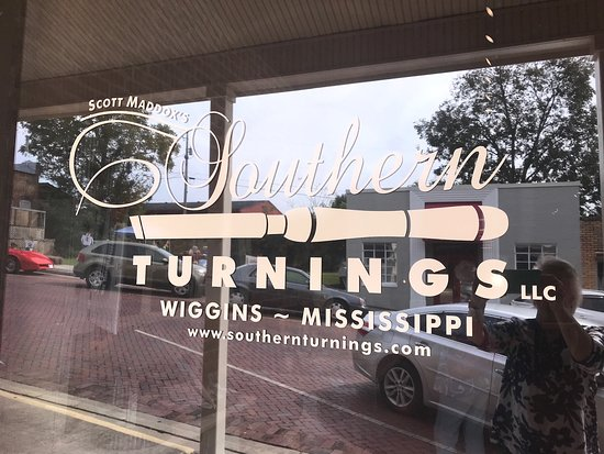 Wiggins, MS: Southern Turnings Logo